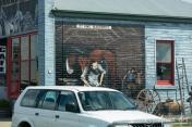 J.T. King Blacksmith mural