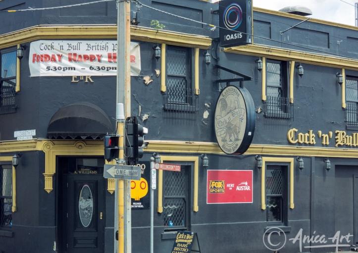 Cock n Bull pub