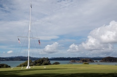 On top of the Waitangi Treaty Grounds