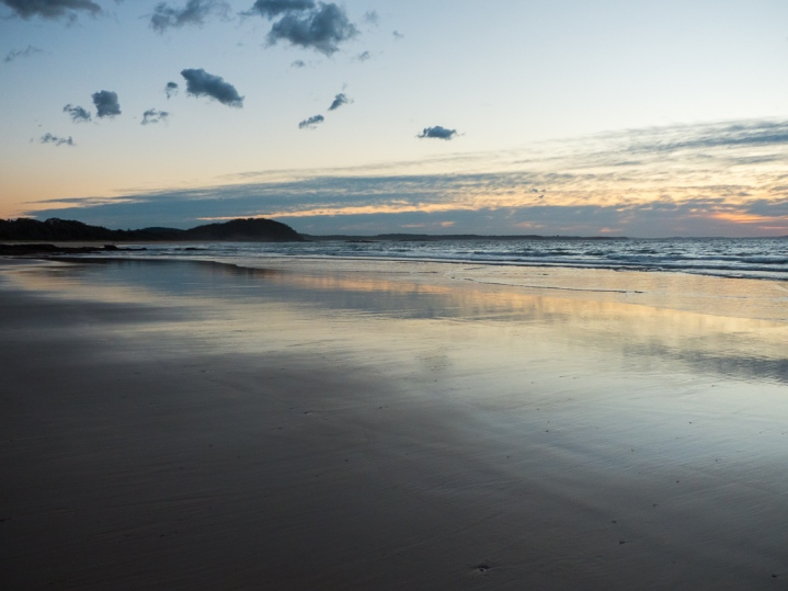Quiet-and-warm-at-Narrawallee-Beach