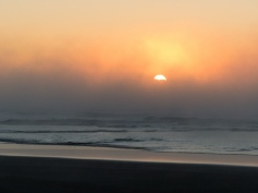 Steamy Sunrise at Narrawallee Beach-2