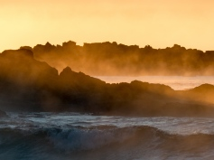 Steamy Sunrise at Narrawallee Beach-4