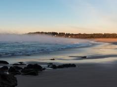 Steamy Sunrise at Narrawallee Beach-5