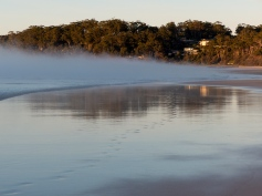 Steamy Sunrise at Narrawallee Beach-6