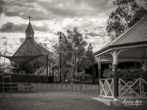 Historic Anglican Church in Milton