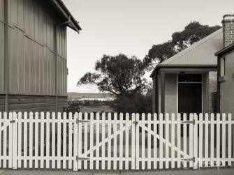 Picket fences in Milton