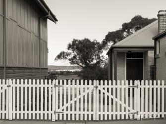 Picket fences in Milton