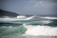 Sets of waves - Mollymook