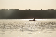 Peaceful dawn at Lake Conjola-4