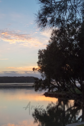 Peaceful dawn at Lake Conjola-6