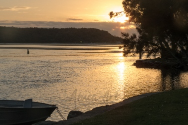 Peaceful dawn at Lake Conjola-7