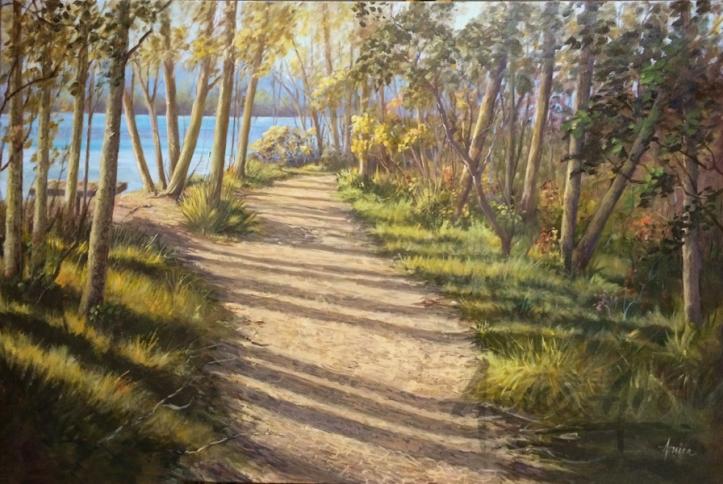 Narrawallee Inlet Painting