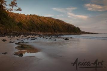 Mollymook Beach sunset-1