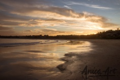 Mollymook Beach sunset-2