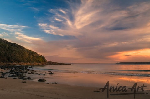 Mollymook Beach sunset-3