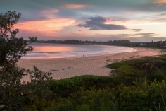 Mollymook Beach sunset-5