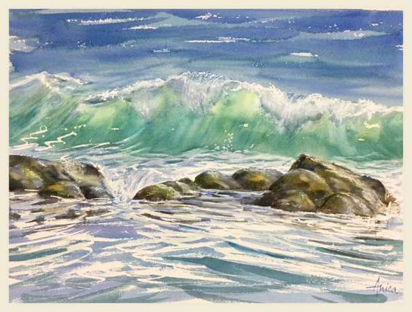 sunny-wave-with-rocks-narrawallee