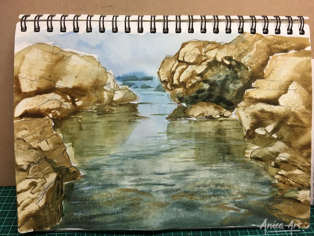 rockpool-painting