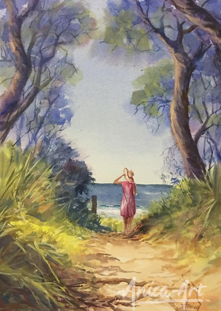 Thru reserve to Narrawallee Beach-