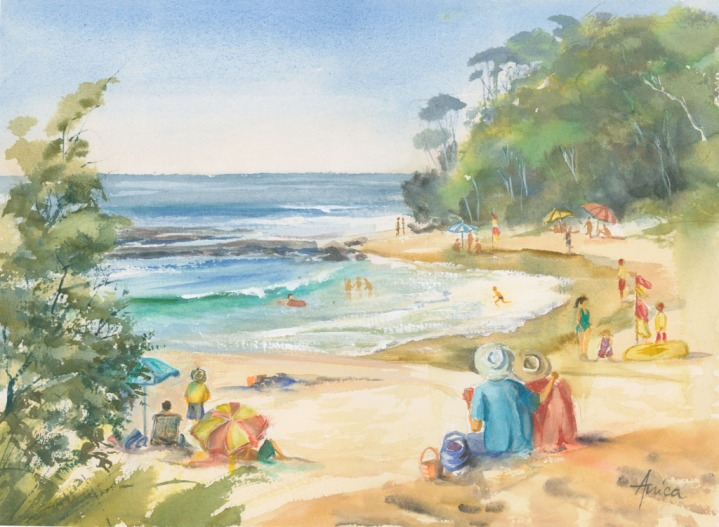 Just another Summer's Day at Mollymook