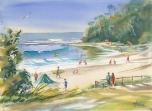 Mollymook Beach Painting